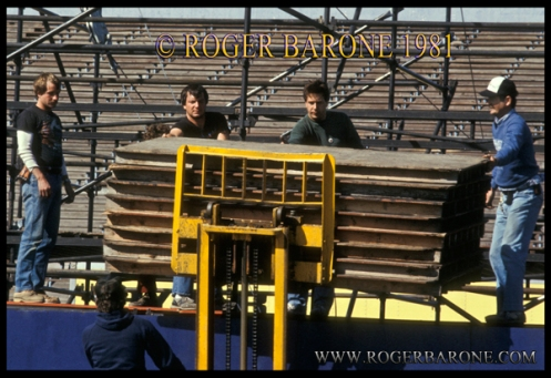 South Philly Stagehand Constructs Rolling Stones Stage in JFK Stadium
