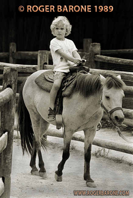jimmy jagger at philly zoo on pony 1989