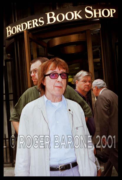 Rolling Stone Bill Wyman Borders Bookstore Philadelphia
