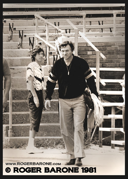mick jagger and bill graham