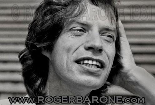 Mick Jagger JFK Stadium press conference