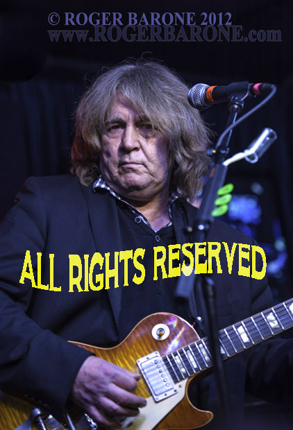 Former Rolling Stones guitarist Mick Taylor performing at the Iridium Club in New York (5/12/12) © Roger Barone