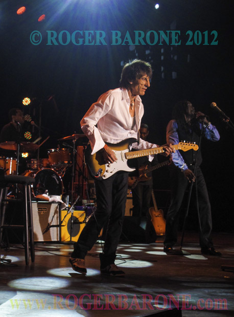 ronnie wood rolling stones guitarist performs in atlantic city concert photo by roger barone 2012