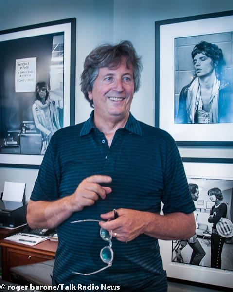 Beatles & Rolling Stones' photographer Ethan Russell holds exhibition in New York's Morrison Motel Gallery..June 15, 2012 photo roger barone