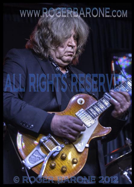 Rolling Stones guitarist Mick Taylor solo Iridium Club (5/12/12)