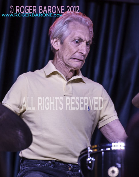 Charlie Watts Iridium Club Performance