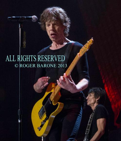 Mick Jagger Wells Fargo Center © roger barone 2013