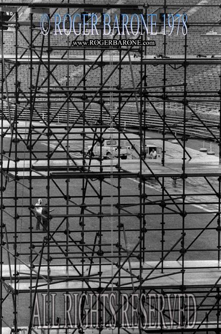 Rolling Stones JFK Stadium Stage june 12, 1978 © roger barone