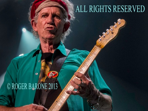 Keith Richards and Rolling Stones Philly Wells Fargo Center © roger barone