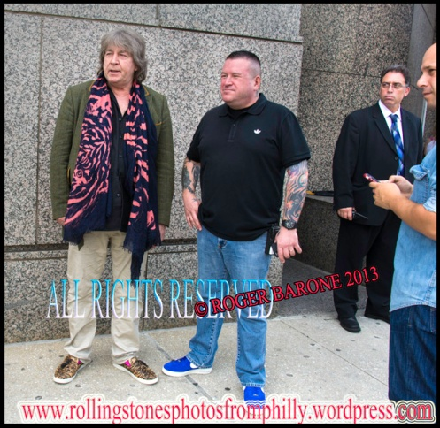rolling stones mick taylor outside philly four seasons hotel. june 23, 2013, © roger barone