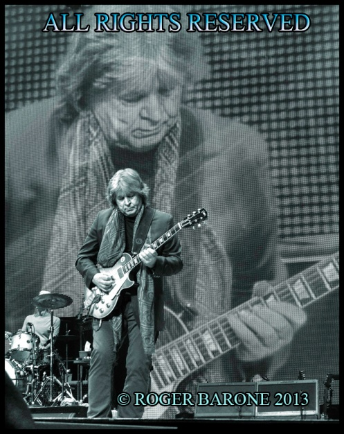 Rolling Stones guitarist Mick Taylor: Wells Fargo Center, June 21, 2013 photo by ©  roger barone
