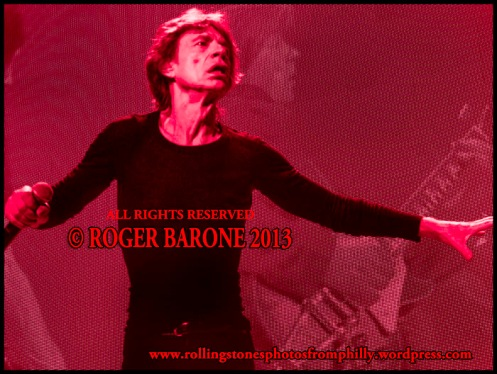 Mick Jagger Wells Fargo Center concert june 21, 2013 photo by roger barone