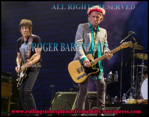 keith richards ronnie wood wells fargo center philly photo by roger barone