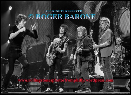 "Rolling Stones playing ""Midnight Rambler"" in Philadelphia, June 21, 2013, © Roger Barone 2013"