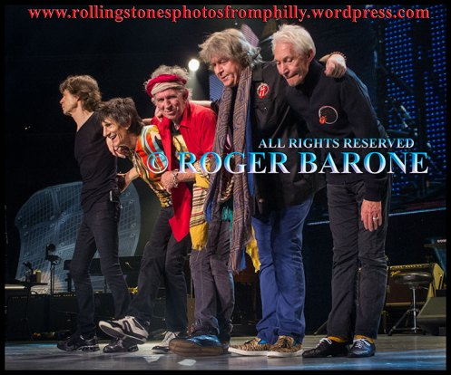 Rolling Stones final bow in Philadelphia, june 21, 2013 photo by roger barone