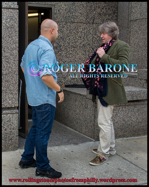 rolling stones guitarist mick taylor outside four seasons hotel in philly june 22, 2012 © roger barone