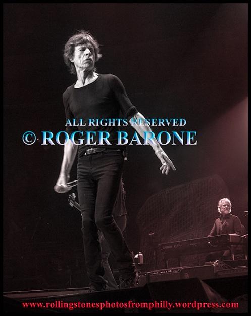 """Mick Jagger """"Midnight Ramber"""" june 21, 2013, wells fargo center, philadelphia. © roger barone"""