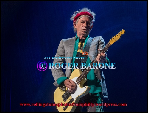 "Rolling Stones singing ""Paint It Black"" at Wells Fargo Center, june 21, 2013. photo by roger barone"